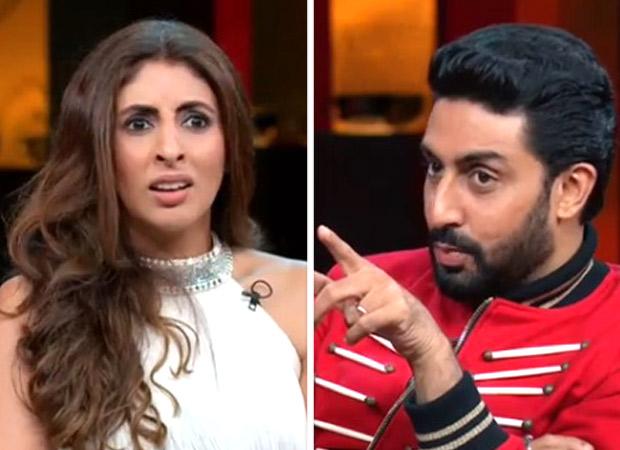 Koffee With Karan 6 Shweta Bachchan reveals who is Abhishek Bachchan more afraid of - Aishwarya Rai Bachchan or Jaya Bachchan