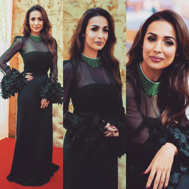 Malaika Arora in Antonio Riva for an event in Hyderabad (1)