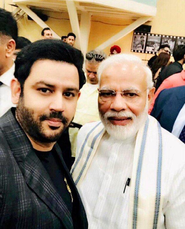 Producer Ajay Kapoor meets honourable PM Narendra Modi