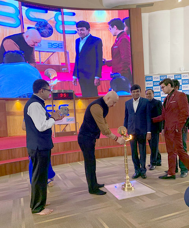 REVEALED: Here's how the makers of The Accidental Prime Minister planned to promote the film at Bombay Stock Exchange (BSE)