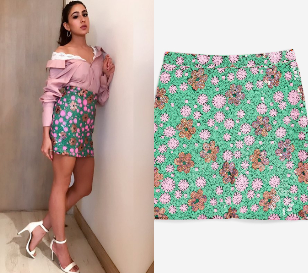 Sara Ali Khan in Topshop for a round of interviews (1)