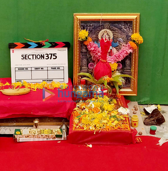 Akshaye Khanna, Richa Chadha are set to kick off Section 375