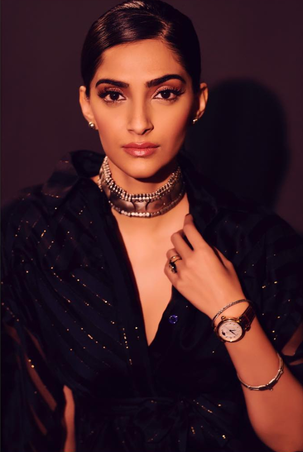 Sonam Kapoor Ahuja in Raph and Russo for IWC Schaffhausen opening dinner party in Geneva (1)