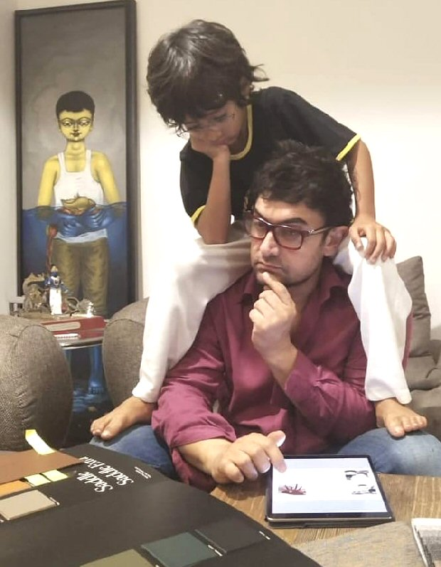 Sunday Vibes! Aamir Khan and son Azad Rao Khan are lost in deep thought
