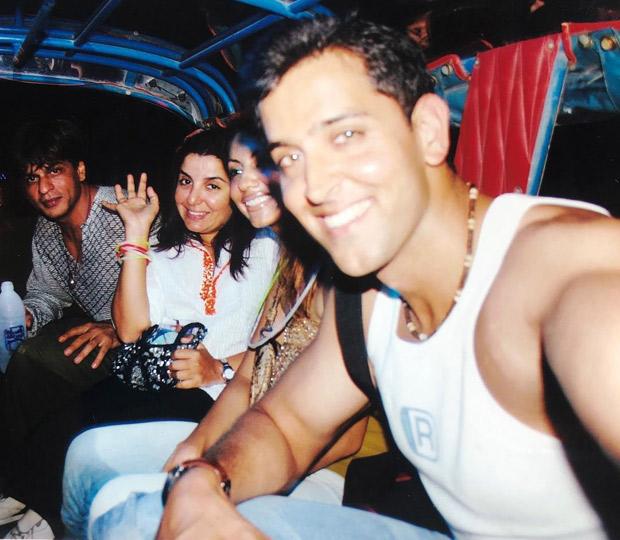 Throwback: Hrithik Roshan and Shah Rukh Khan celebrate New Year circa 2003