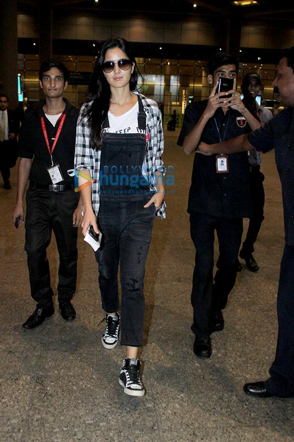 Katrina Kaif returns from 'Baar Baar Dekho' shoot in London