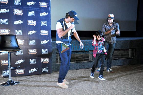 Hrithik Roshan graces special 'Bang Bang!' show for Kids