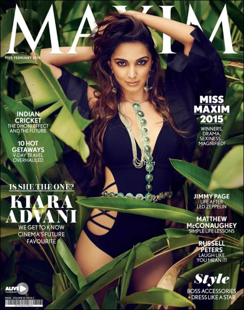 Check out: Kiara Advani goes sexy for Maxim cover
