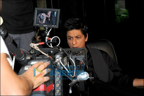 Check Out: SRK shoots for TAG Heuer's first ever TVC for India