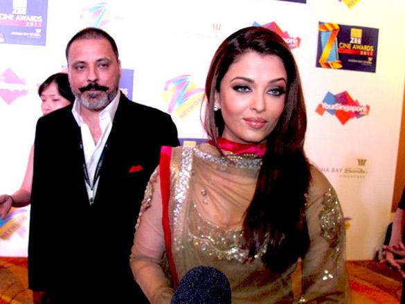 Zee Cine Awards 2011 Photo Of Bunty Walia Aishwarya Rai From The Zee Cine Awards 2011 Images Bollywood Hungama