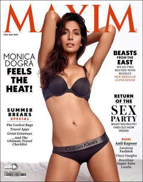 936a15d349 Singer and actress Monica Dogra who made her Bollywood debut with Kiran  Rao s directorial venture Dhobi Ghat in 2011 is all set to send  temperatures soaring ...