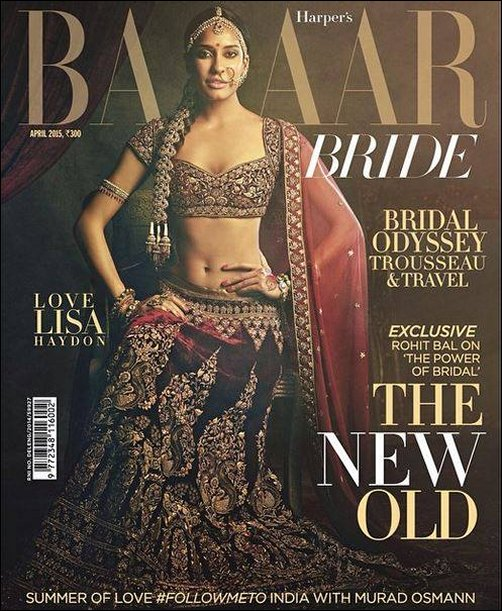 Check Out Lisa Haydon Represents The Modern Indian Bride On