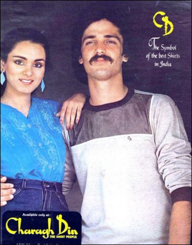 Check out: The modelling days of real Neerja Bhanot