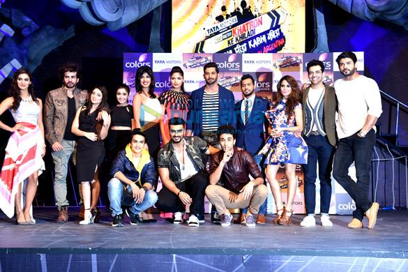 Arjun Kapoor at the launch of 'Khatron Ke Khiladi – Kabhi Peeda, Kabhi Keeda'