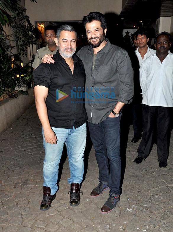 Aamir Khan, Salman Khan grace Anil Kapoor's birthday bash