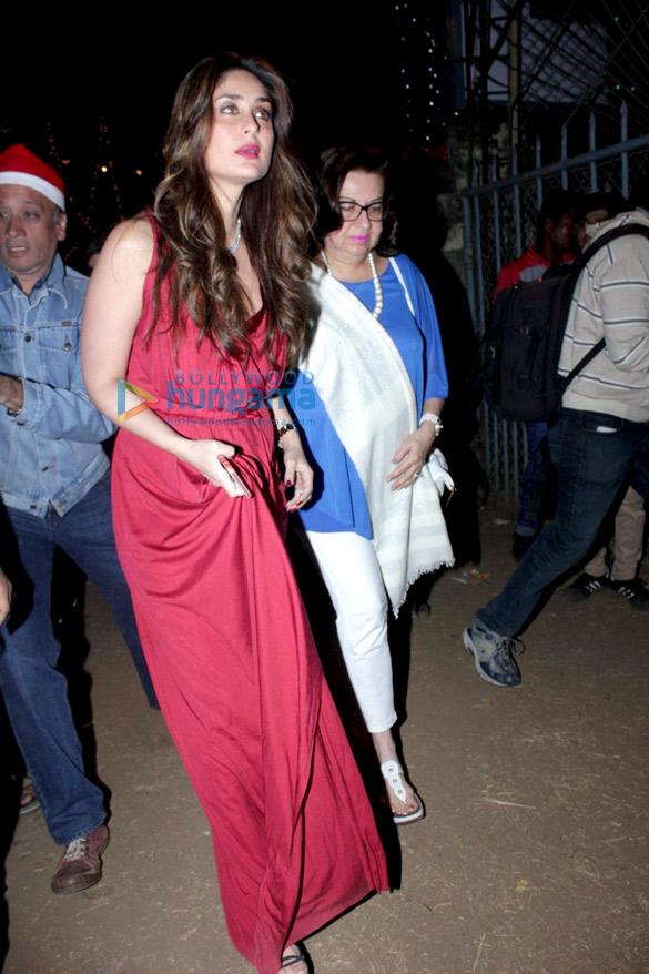 Kareena Kapoor Khan Karisma Kapoor Amrita Arora Malaika Arora Khan Snapped During Christmas Mass Kareena Kapoor Khan Babita Kapoor Images Bollywood Hungama