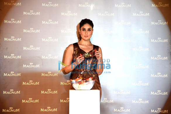 Kareena Kapoor Khan at the launch of the new 'Magnum Ice Cream'