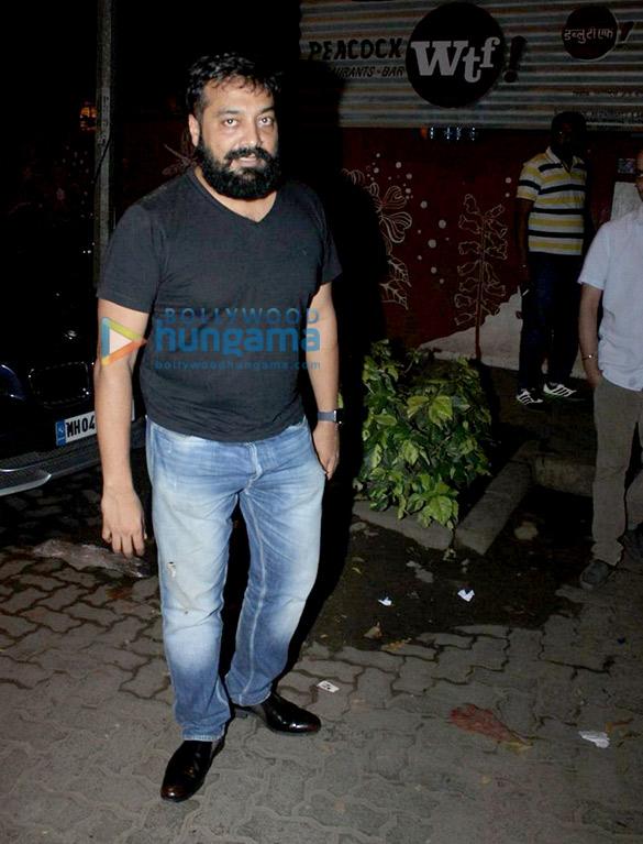 Anurag Kashyap & Imtiaz Ali snapped post dinner at WTF restaurant