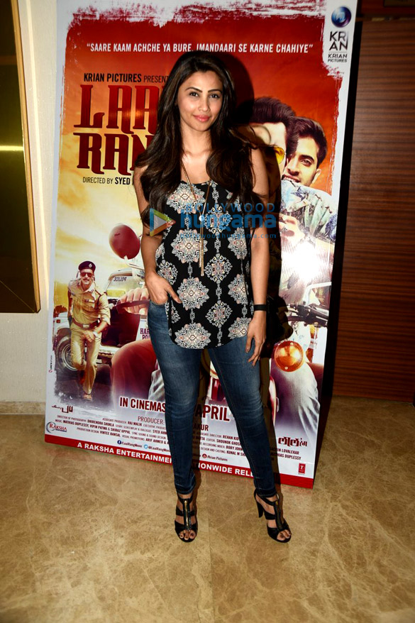 Special screening of the film 'Laal Rang'