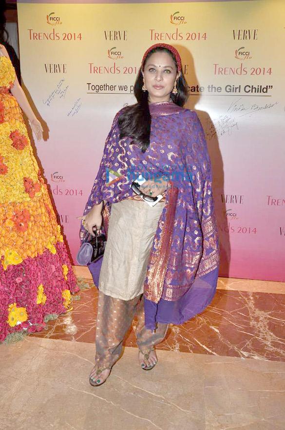 Lillete Dubey & Indu Jain at FICCI Flo Trends 2014