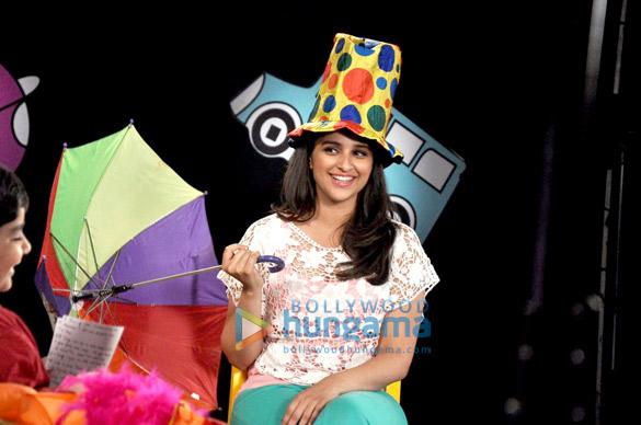 Parineeti Chopra at Disney's shoot