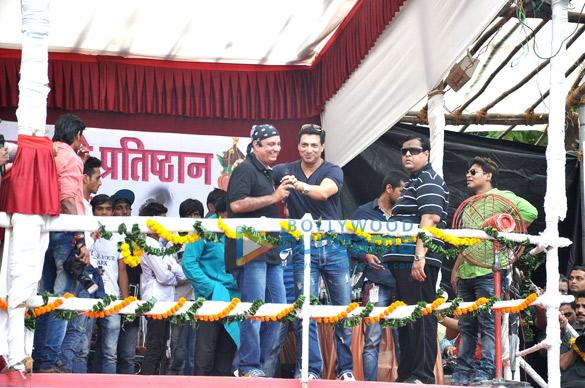 Celebs at Krishna Hegde's Dahi Handi celebration