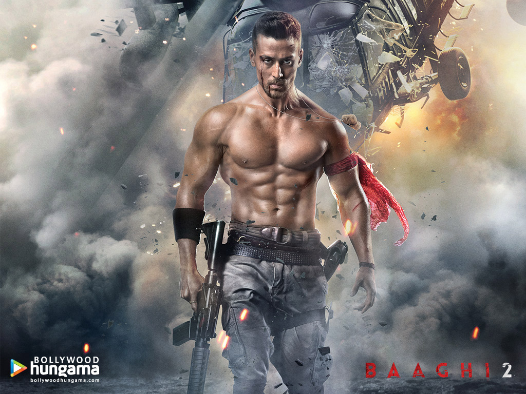 Wallpaper Of The Movie Baaghi 2