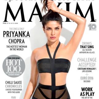 Priyanka Chopra On The Cover Of Maxim