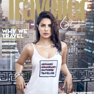 Priyanka Chopra On The Cover Of Conde Nast Traveller India
