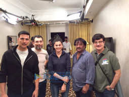 On The Sets Of The Film Naam Shabana