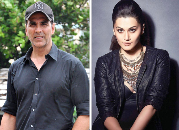 Akshay Kumar wants Taapsee Pannu to be the next action star
