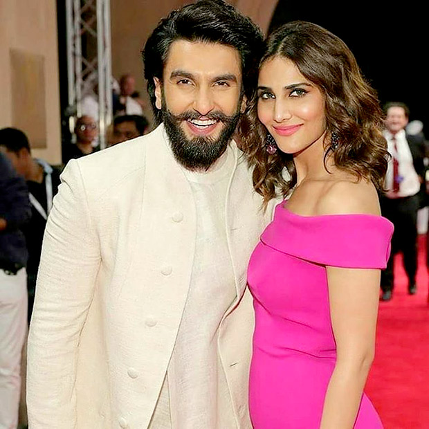 Check out Ranveer Singh makes a style statement with Vaani Kapoor at the Dubai premiere of Befikre1