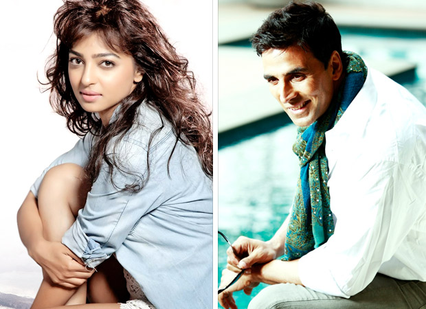 Radhika Apte to play Akshay Kumar
