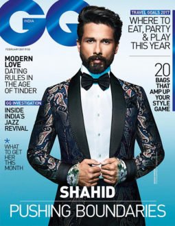 Shahid Kapoor On The Cover Of GQ Magazine