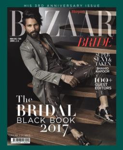 Shahid Kapoor On The Cover Of Harper's Bazaar Bride, Feb 2017