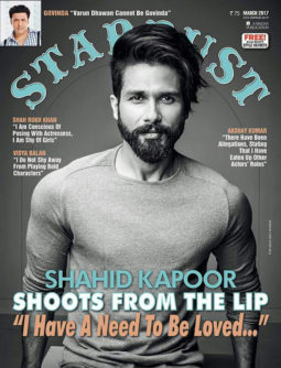 Shahid Kapoor On The Cover Of Stardust Magazine