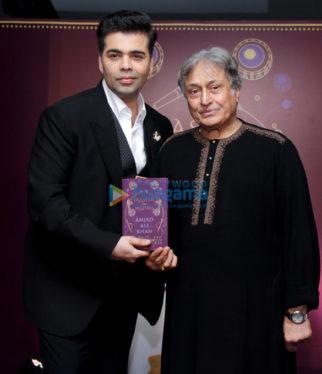 Ustad Amjad Ali Khan's 'Master on Masters' book release by Karan Johar