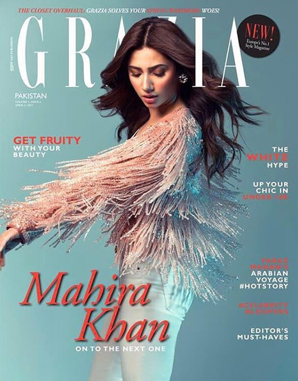Check out Mahira Khan sizzles on the latest edition of Grazia