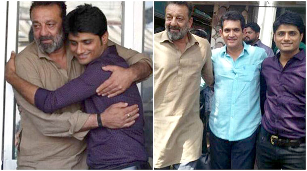 Check out Sanjay Dutt gets emotional after wrap up of his comeback film Bhoomi