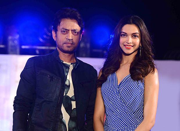 Deepika Padukone and Irrfan Khan