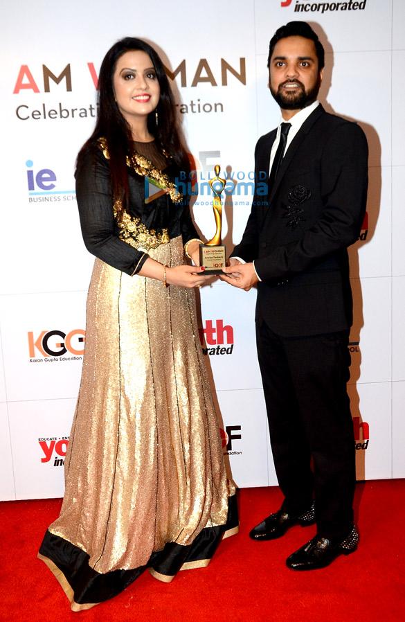 Krishika Lulla, Farah Khan Ali and Amruta Fadnavis honoured with the 'I Am Woman' awards
