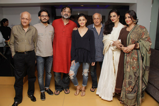 Rekha Latest News Photos Reviews: This Is How Rekha, Vidya Balan And Alia Bhatt Bonded Over