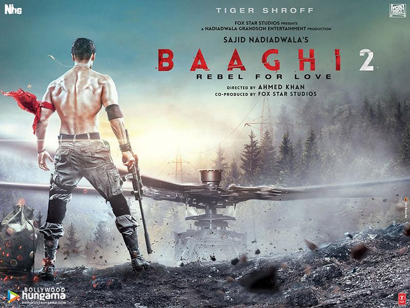 Baaghi 2 2018 Wallpapers Baaghi 2 6 Bollywood Hungama