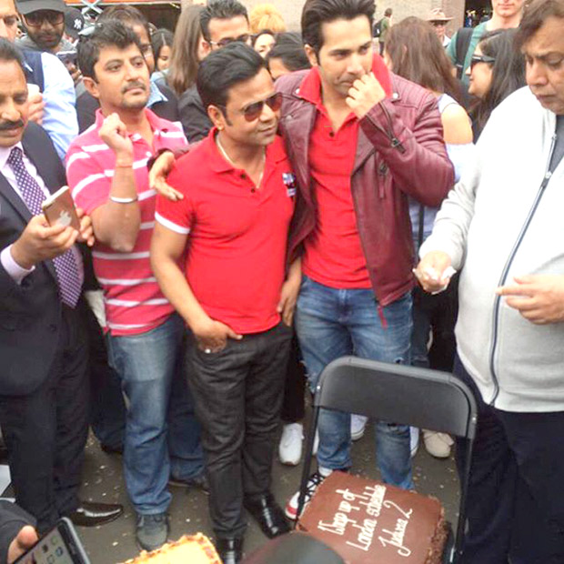 Check out: It's a wrap for Varun Dhawan and Judwaa 2 in London
