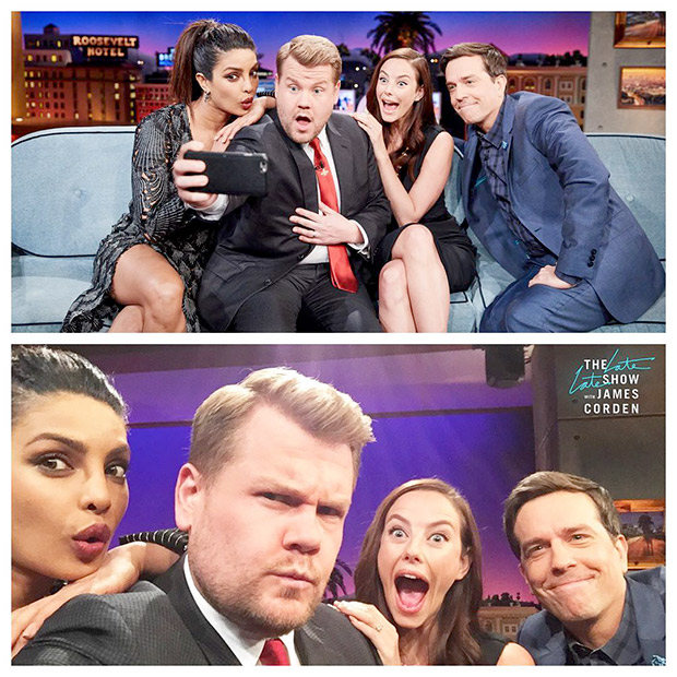 Check out: Priyanka Chopra shows off her goofy side on James Corden's The Late Late Show