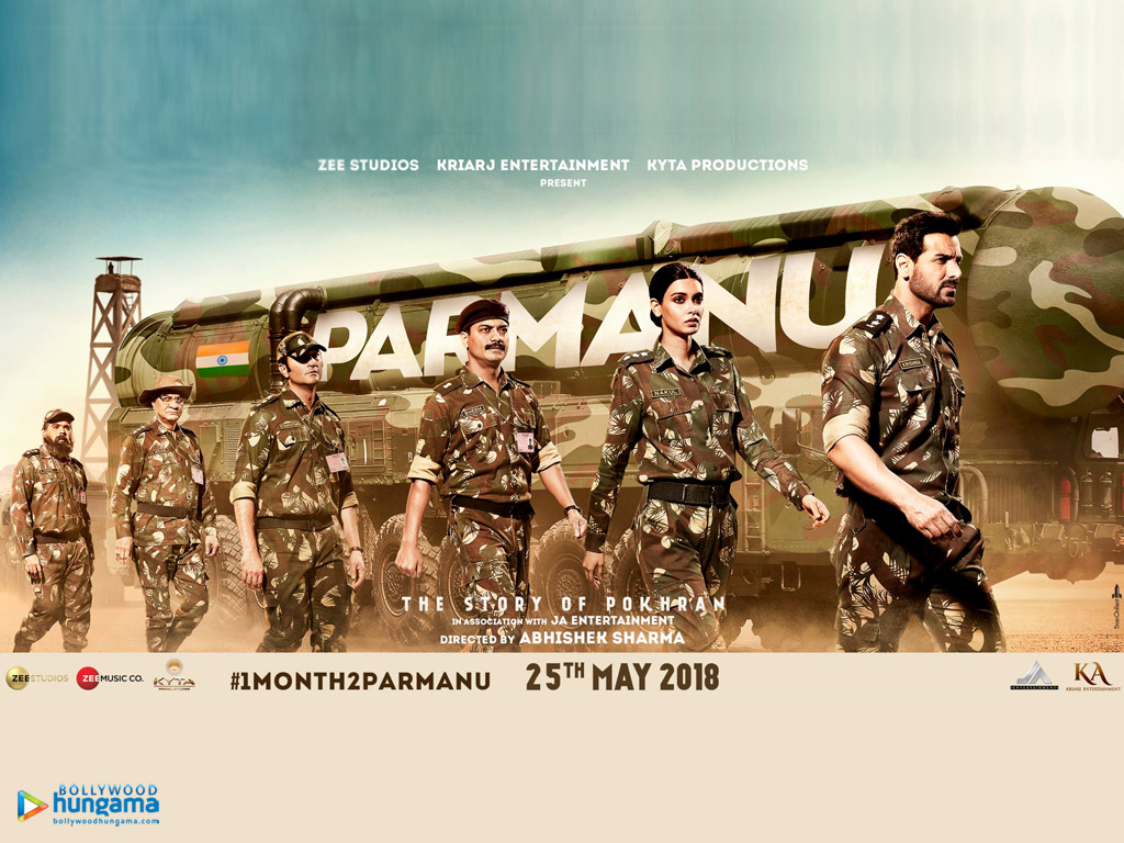 Movie Wallpapers Of The Movie Parmanu - The Story Of Pokhran