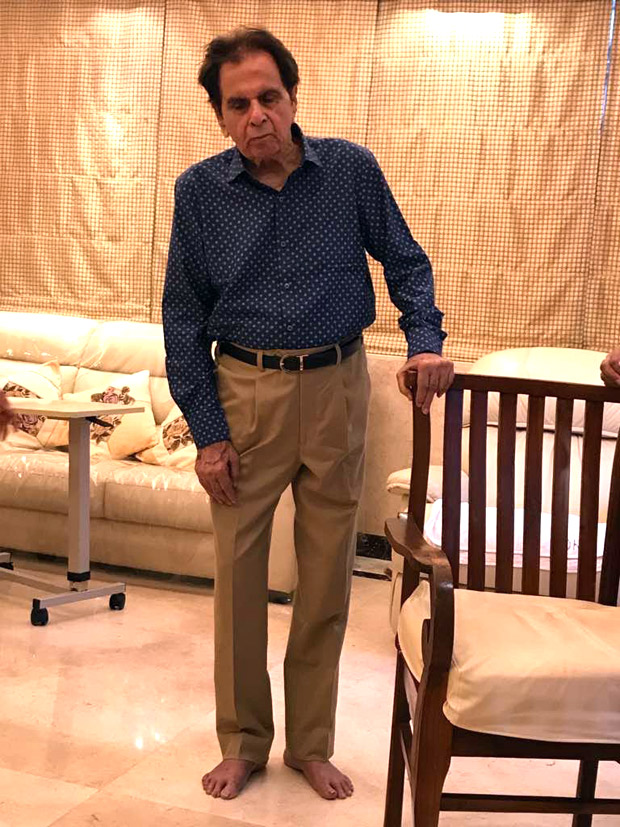 Dilip Kumar shares this picture on social media that will definitely make his fans happy