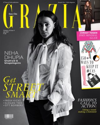 Neha Dhupia On the covers Grazia