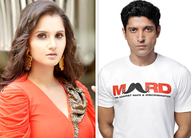 Sania Mirza shoots this video for Farhan Akhtar and this is what it is about news