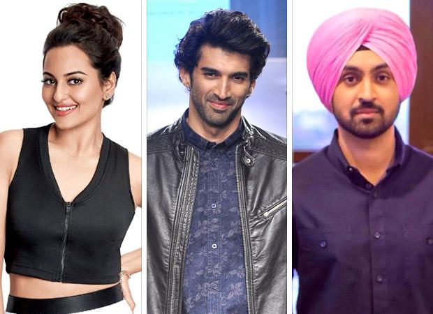 Sonakshi Sinha, Aditya Roy Kapur and Diljit Dosanjh to star together in the IIFA movie